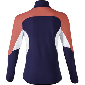 UYN Move Sweat-shirt avec demi-zip Femme, deep blue/geranium/off white